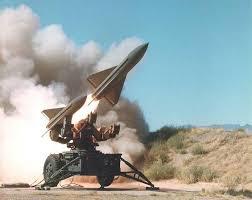 Hawk missle firing